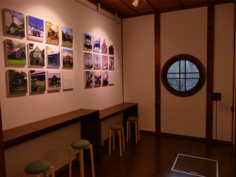 みんなのギャラリーの展示スペース風景