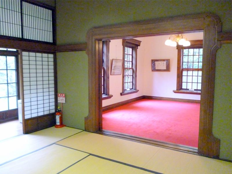 旧永山邸応接室入り口