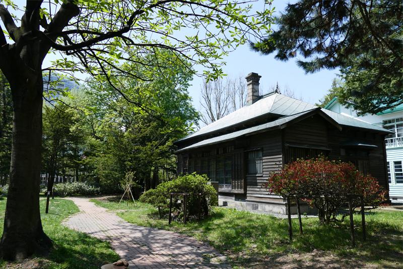 旧永山武四郎邸の外観
