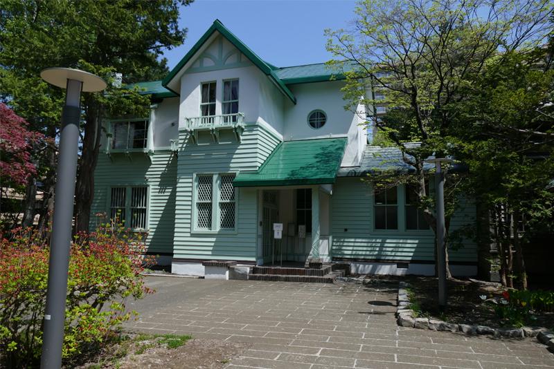 旧三菱鉱業寮の外観